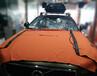 厦门威固汽车隔热膜V70沃尔沃V90汽车贴膜施工中