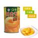 正品多国牌水果黄桃罐头黄桃罐头425克12罐整箱江浙沪皖包邮