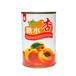 正品多国牌糖水杏罐头杏罐头425克12罐整箱江浙沪皖包邮