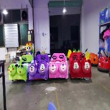 永康宝厂家批发儿童电动玩具车毛绒电瓶碰碰车儿童赛车