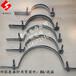 钢管塔用紧固件BG抱箍水泥杆用夹具热镀锌抱箍曲阜鲁电