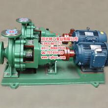 耐腐蚀离心泵环境保护工程泵IHK50-32-200