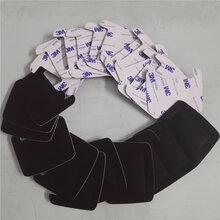 透明硅胶垫黑色硅胶脚垫密封硅胶垫片自粘硅胶防滑垫3M硅胶垫图片