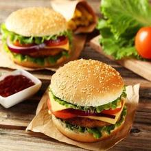 麦加美汉堡加盟费用美式汉堡西式快餐创业图片