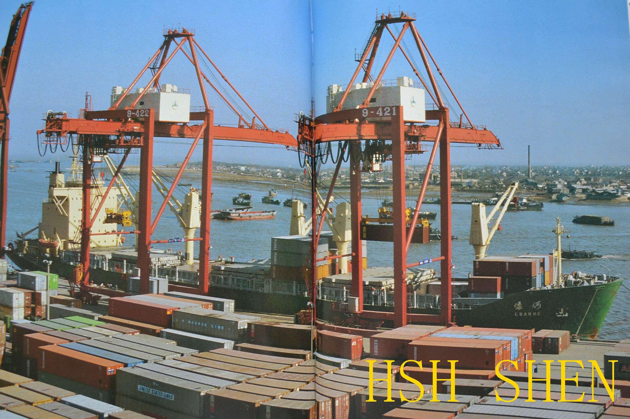 能延伸到内陆周边的以及经长江沿线各个港口的内贸集装箱的门对门的