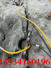 广西壮族自治区石场开采石头液压机器胀裂机图片