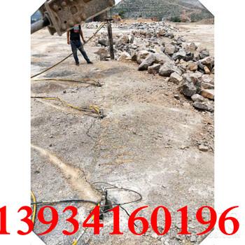 遼寧阜新鉤機鉤不動靜態劈裂石頭脹裂機的價格