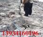 大型開山錘開采石頭沒產量用劈裂棒江西宜春