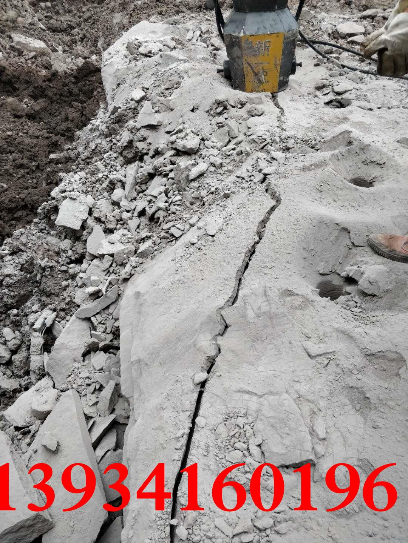 宁波矿场开采岩石静态液压机器多少钱