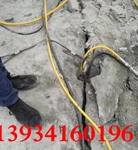莆田路面拆除顶管掘进风镐打得慢用分裂机图片