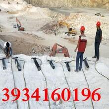 金昌矿场开采岩石静态液压机器多少钱图片