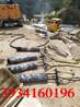 石方工程专业静态开裂机代替爆破广西壮族自治区