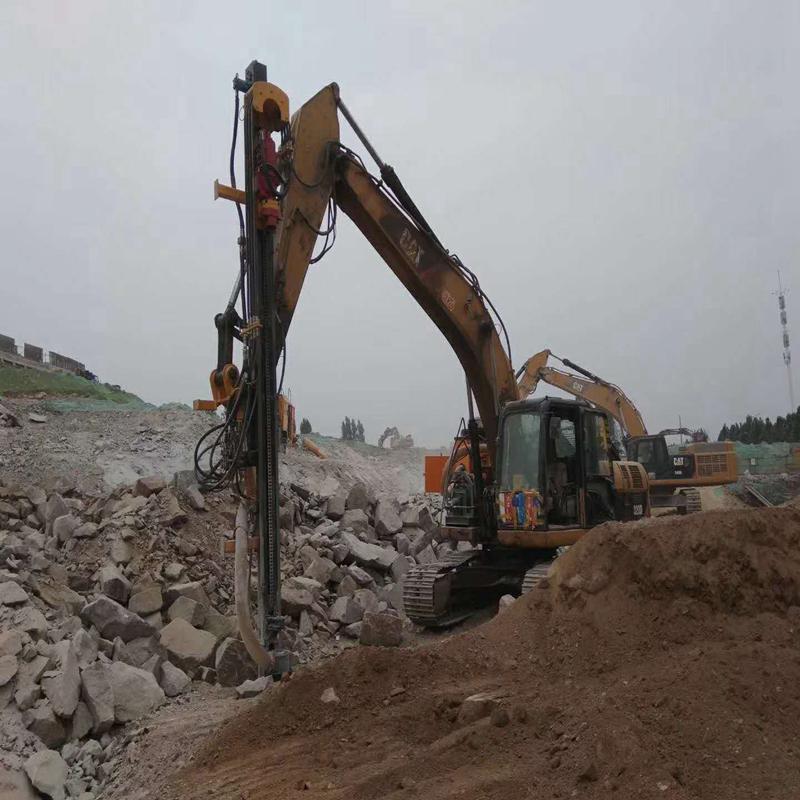 大理石开采取代放炮破碎锤的机器黑龙江鹤岗