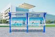 山东滨州专业LED灯箱不锈钢宣传栏路标公益户外广告