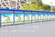 山东不锈钢宣传栏、公交站牌/宣传栏制作效果图