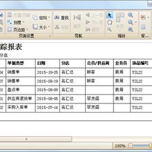 蓝格珠宝零售管理软件、珠宝软件强大的功能权限,严格到字段显示功能