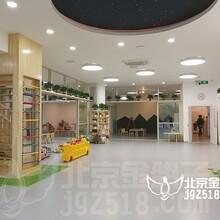 秦皇岛幼儿园设计公司设计风格新颖的找金鸽子装饰