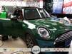 南宁名仕汽车贴膜,汽车漆面保护膜,宝马mini汽车车身改色贴膜艾利古典绿色