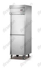 饭店厨房冰箱冷藏冷冻设备不锈钢雪雾柜