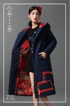 品牌折扣女装千唐绣女装新款到货精致做工品牌女装库存尾货