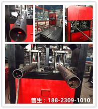 佛山新型液压数控全自动钢管冲床椭圆形铁管自动打孔机