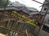 涪陵古廊施工重庆亭廊修建厂家景观木长廊造价实木廊架价格