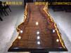 福州哪有批发实木大板的工厂红木家具新中式家具黑檀巴花胡桃木奥坎批发工厂直销