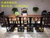 福州哪里有生产黑檀大板家具配件沙发茶桌餐桌的厂家原木巴花大板