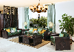 厦门新中式黑檀家具沙发价格厂家直销办公桌茶桌红木家具酸枝