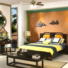 中山大涌哪有卖新中式黑檀家具黑酸枝缅花大红酸枝红木家具沙发的图片