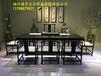 福州黑檀木大板茶盘家具体验中心实木大板檀笑古今家具