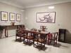 重庆黑檀奥坎胡桃木书桌实木茶桌实木茶桌家具