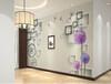 信阳电视背景墙壁画3D5D电视墙个性电视背景墙定制中式欧式电视背景墙玄关壁画