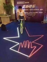 科技展脚踏车发电比赛神奇的辉光万丈深渊互动道具出租