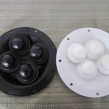 批发气动隔膜泵配件/外径230丁睛橡胶隔膜片/QBY25/40隔膜片图片