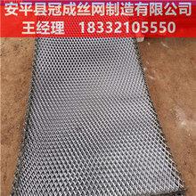 安平钢板拉伸网价格_拉伸钢板网供应商/冠成