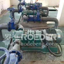 污泥转子泵污泥泵厂家选型-天津罗德品牌凸轮转子泵图片
