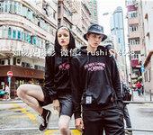 广州淘宝服装男装女装情侣装亲子装潮牌T恤卫衣拍摄影工作室