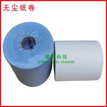 蓝白色工业擦拭纸无尘纸卷防静电无尘纸厂家直销图片