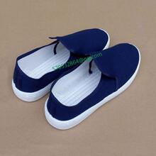 工厂直销热卖的防静电白色帆布鞋