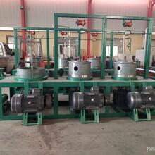 泰煌WL-3型滑轮干式拉丝机组加1000公斤可拆卸工字轮收线机图片