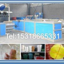 塑料扁丝拉丝机,优质塑料拉丝机批发,PP拉丝机械厂家图片