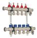 德國原裝進口哈文HEVIN平衡閥式不銹鋼分集水器暖通進口分水器