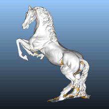雕刻马三维扫描,雕刻马三维抄数,雕刻马逆向设计