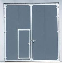 天津安裝工業平開門玻璃平開門圖片