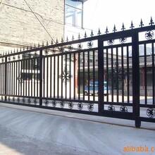天津寶坻區安裝鐵藝圍欄定做鐵藝圍欄圖片