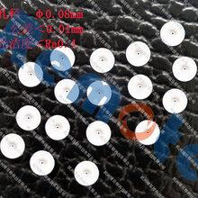 供应非标陶瓷、红宝石微孔加工定制,最小孔径0.03mm,可提供免费打样图片