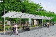 厂家销售膜结构自行车棚上海膜结构车棚威尼斯人官网网址遮阳棚车篷停车棚