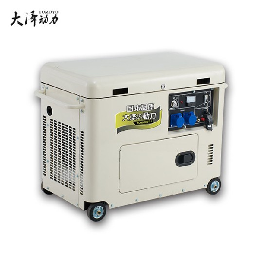 TO7600ET-J高原靜音柴油發電機6KW