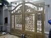 开敞式庭院铝艺大门铝艺庭院门报价豪华别墅大门安装图铝大门生产厂家